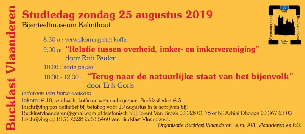 Buckfast studiedag 2019